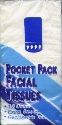 Pocket pach facial tissues
